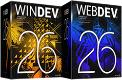 WinDev AND WebDev Upgrade from 24 to 26