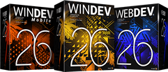WinDev AND WebDev AND WinDev Mobile Upgrade from 25 to 26